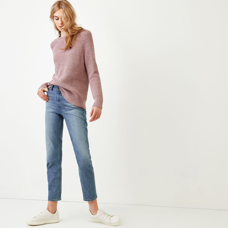 Roots-Women Our Favourite New Arrivals-Yukon Crew Sweater-Dark Lilas Mix-B