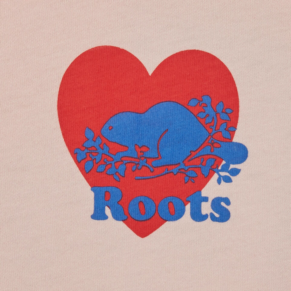 Roots-Kids Tops-Toddler Roots Pride T-shirt-English Rose-C