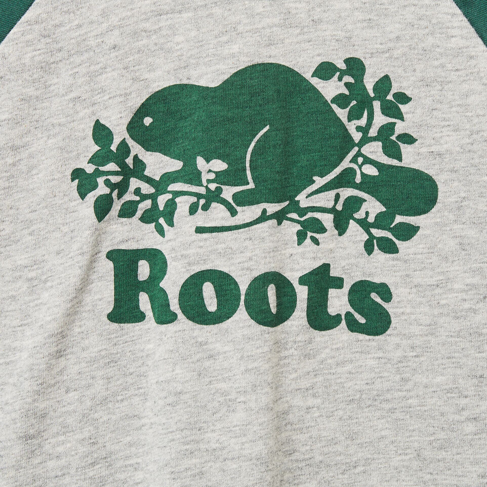 Roots-undefined-Baby Cooper Beaver Raglan T-shirt-undefined-C