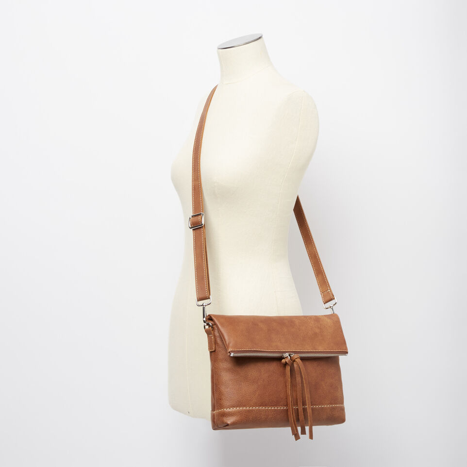Roots-Women Leather-Emma Bag Tribe-Natural-B