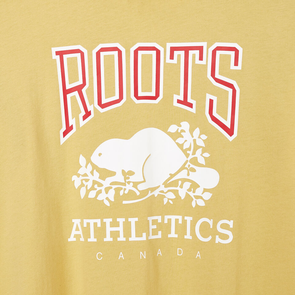 Roots-New For March Rba Collection-Womens RBA Long Sleeve T-shirt-Canary Yellow-C