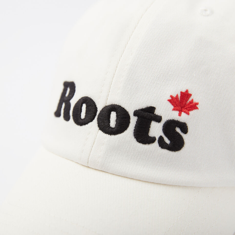 Roots-undefined-Mens Cooper Leaf Baseball Cap-undefined-D
