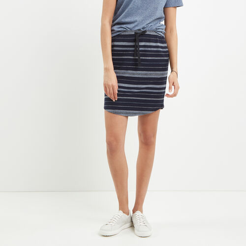 Roots-Women Shorts & Skirts-Beach Comber Skirt-Cascade Blue-A