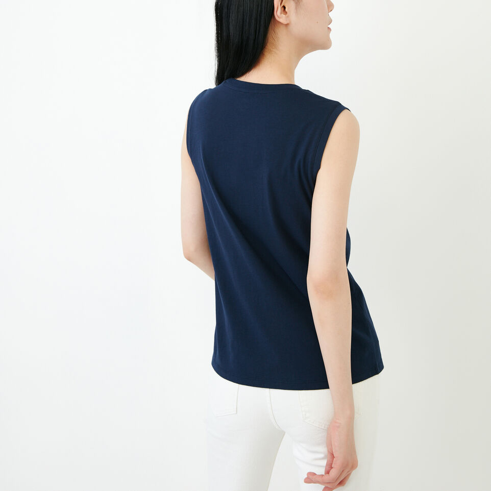 Roots-Women Our Favourite New Arrivals-Essential Tank-Navy Blazer-D
