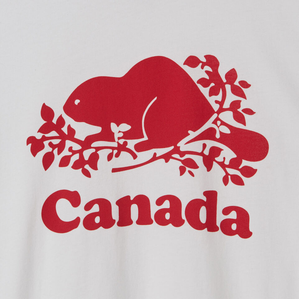 Roots-New For July Men-Mens Cooper Canada T-shirt-White-C