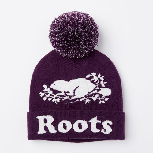 Roots-Kids Accessories-Kids Cooper Glow Toque-Purple Pennant-A