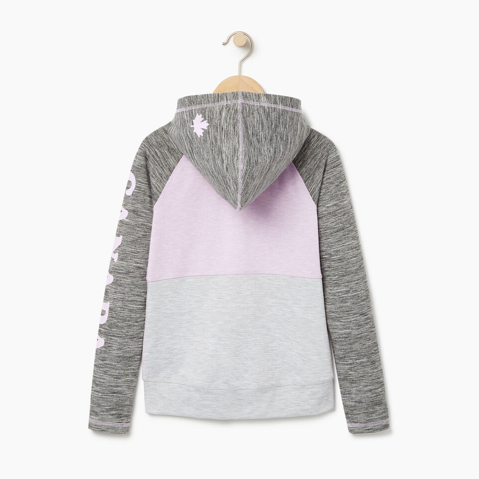 Roots-undefined-Girls Lola Active Full Zip Hoody-undefined-B