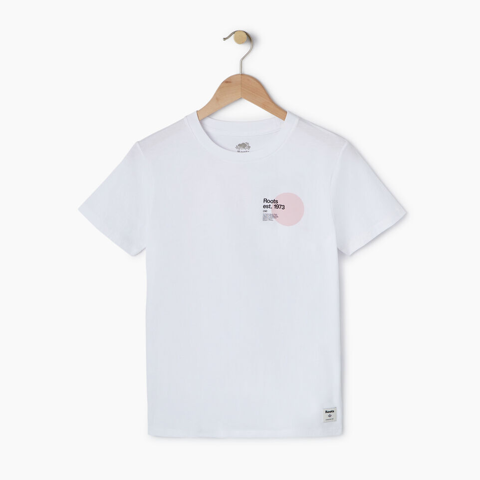 Roots-New For July Daily Offer-Womens Am/pm T-shirt-Crisp White-A