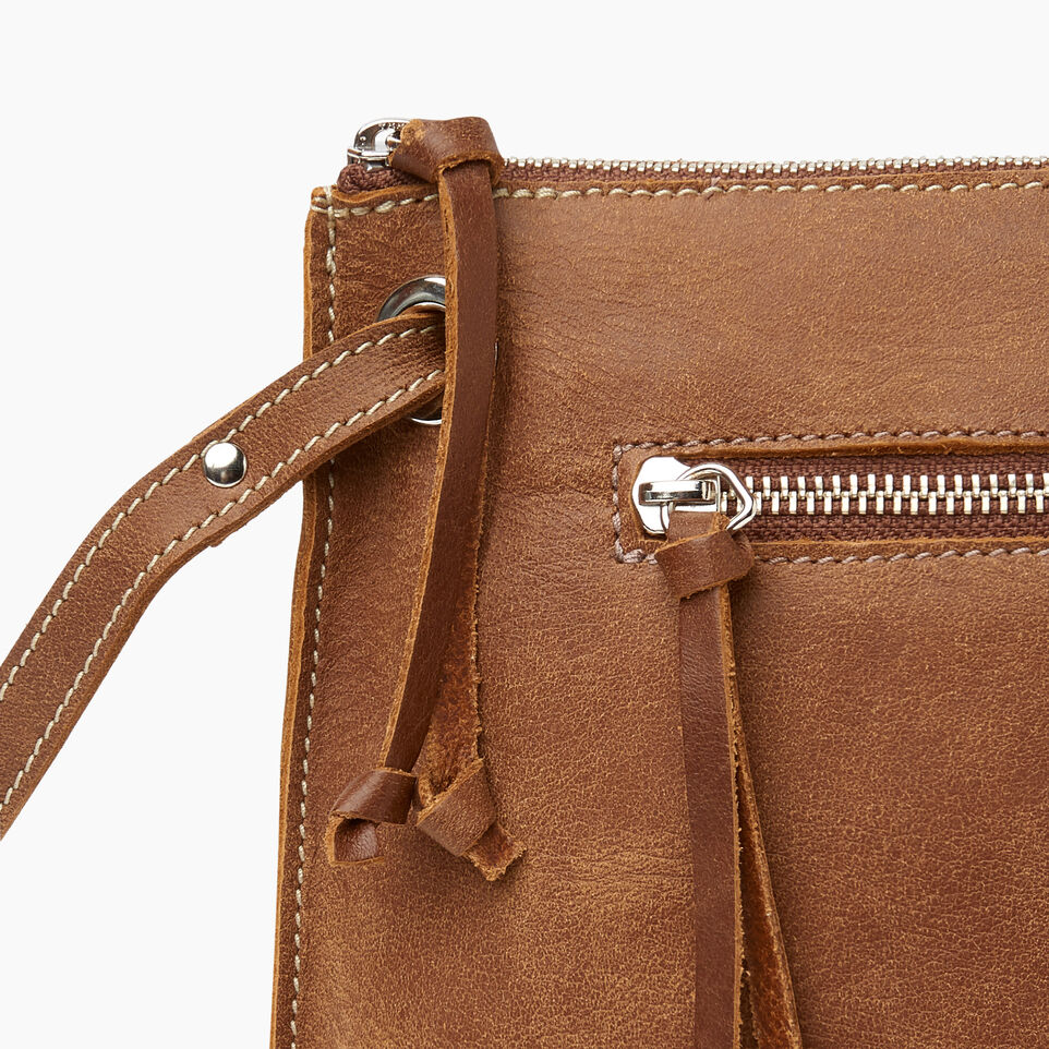 Roots-Leather Handbags-Edie Bag Tribe-Natural-E