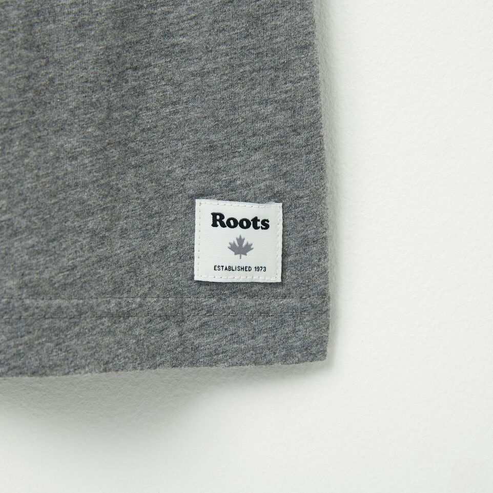 Roots-undefined-Mens Roots Wordmark T-shirt-undefined-C
