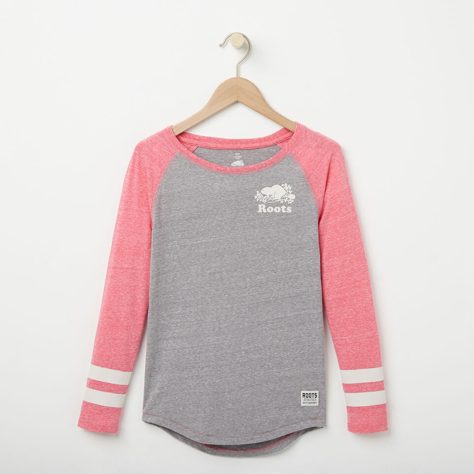 Roots-undefined-Girls Celine Baseball Top-undefined-A
