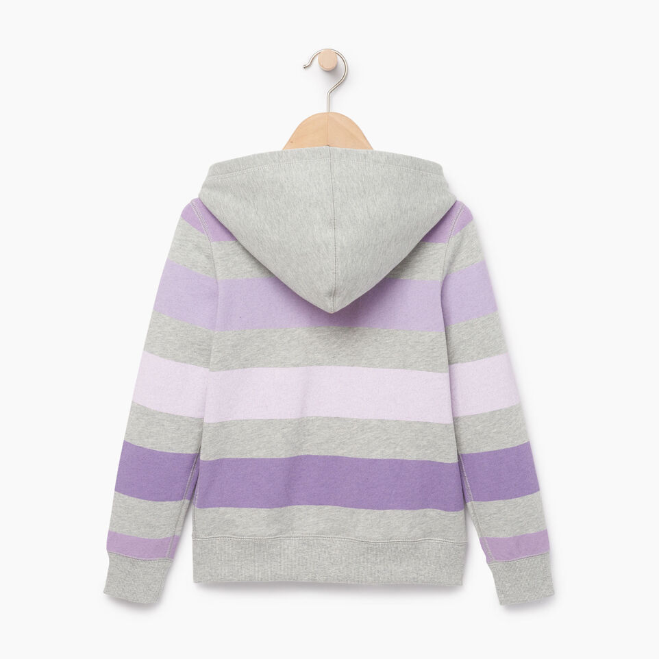 Roots-undefined-Girls Ombre Stripe Full Zip Hoody-undefined-B
