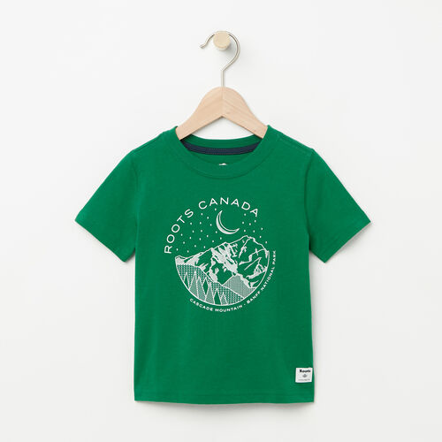 Roots-Kids Toddler Boys-Toddler Glow In The Dark T-shirt-Verdant Green-A