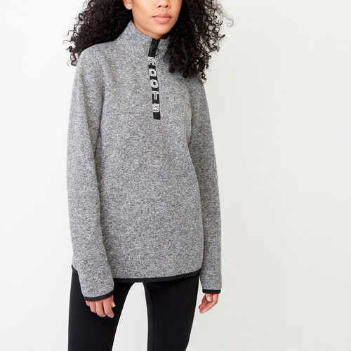 Roots-Women Our Favourite New Arrivals-Dartmouth Sweater Fleece Stein-Grey Pepper-A