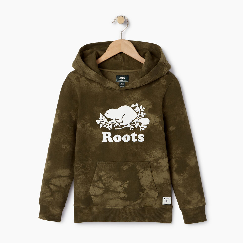 Roots-Kids Our Favourite New Arrivals-Boys Cloud Nine Kanga Hoody-Winter Moss Green-A
