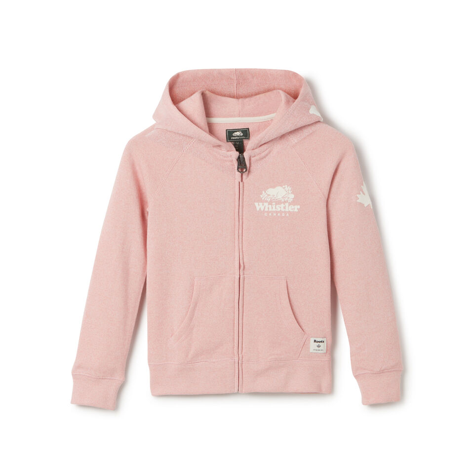 Roots-undefined-Girls Whistler Full Zip Hoody-undefined-A