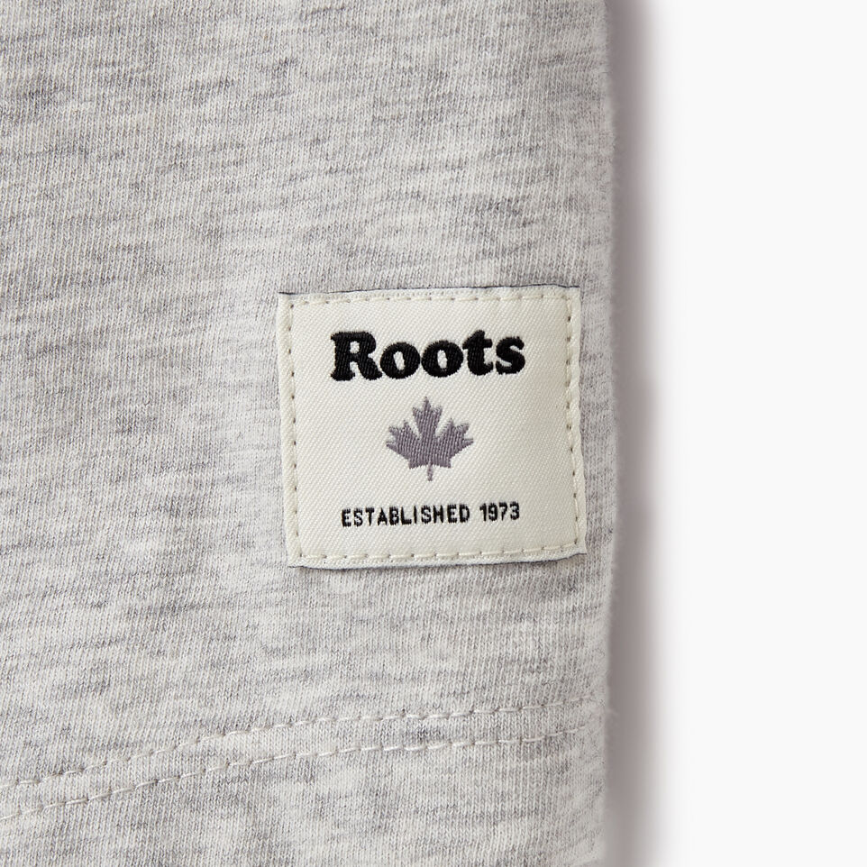 Roots-New For August Women-Womens Baseball Slim T-shirt-Snowy Ice Mix-C