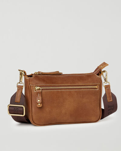 Roots-Women Crossbody-Andie Bag Tribe-Natural-A