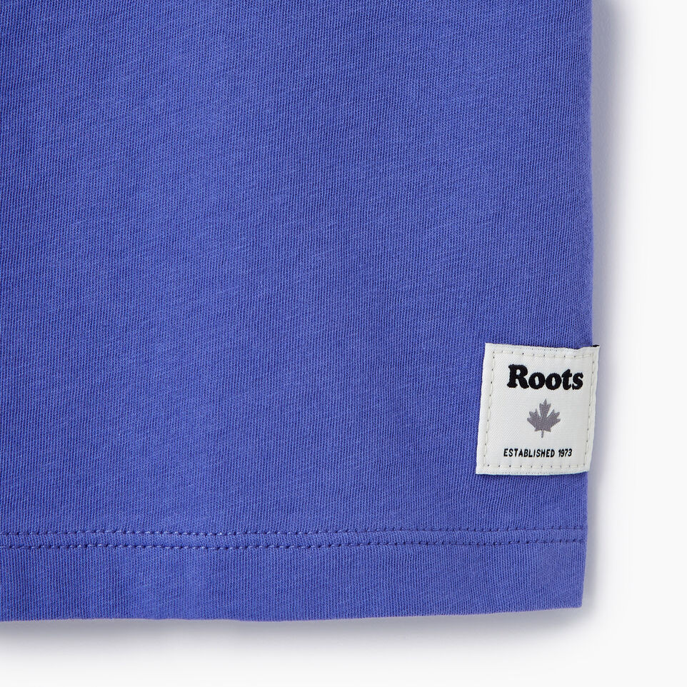Roots-New For July Daily Offer-Womens 1973 T-shirt-Violet Storm-C
