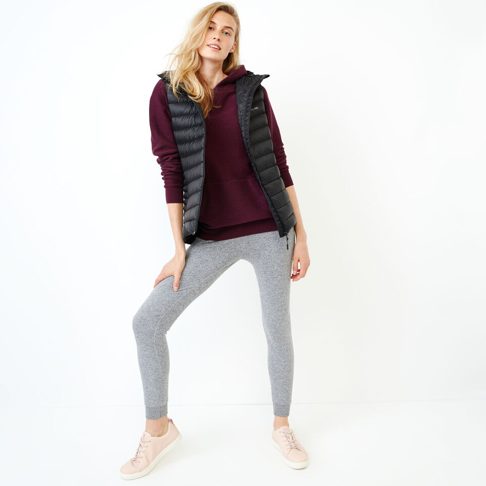 Roots-Women Categories-Maple Sweater Hoody-Pickled Beet Mix-B