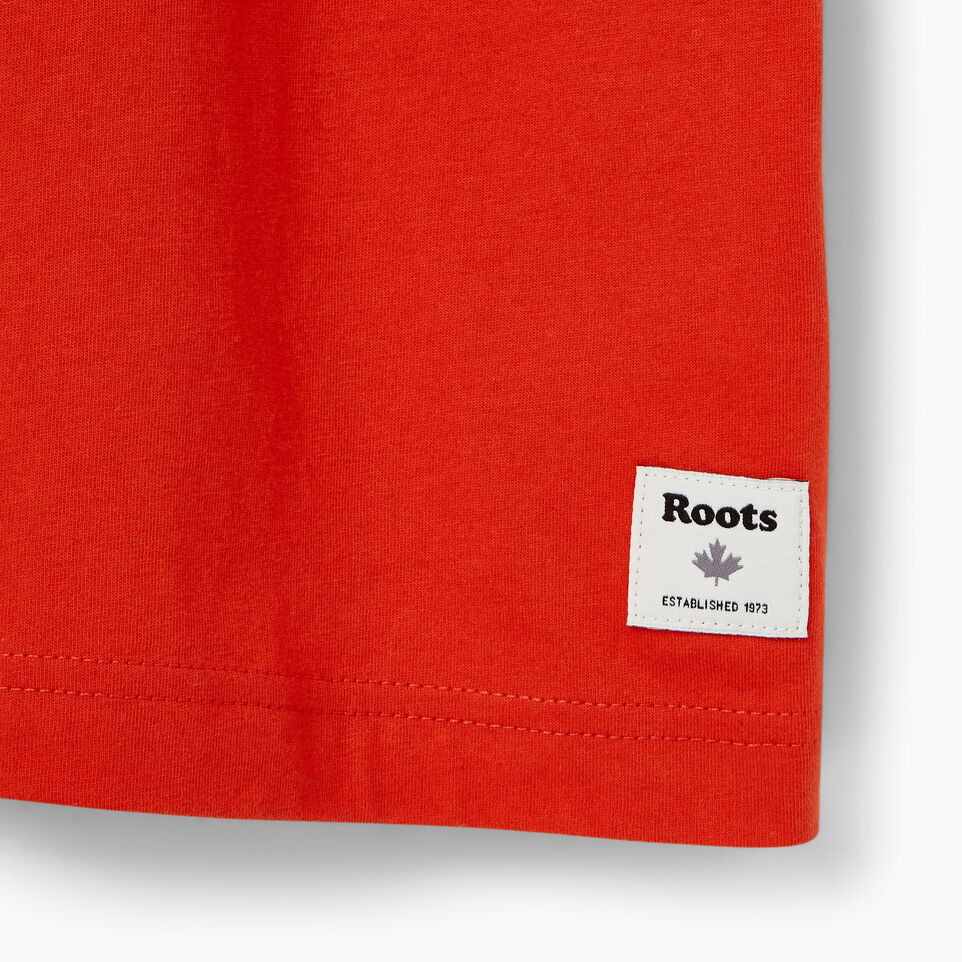 Roots-Men Our Favourite New Arrivals-Mens Roots Ski T-shirt-Red Clay-C