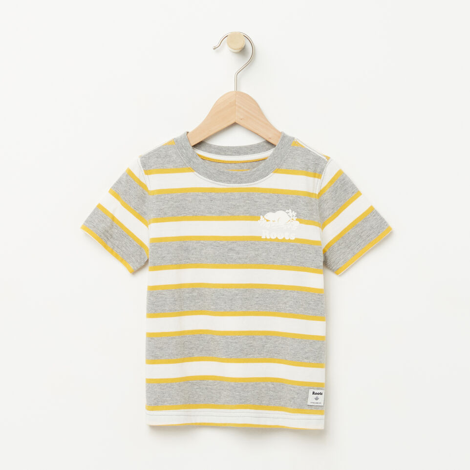 Roots-undefined-Toddler Elliot Stripe T-shirt-undefined-A