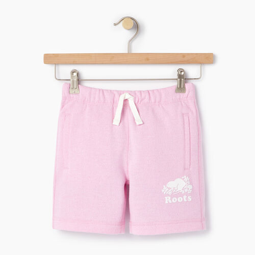 Roots-Kids Categories-Girls Original Roots Short-Pastl Lavender Pper-A