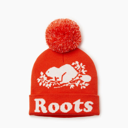 Roots-Kids Our Favourite New Arrivals-Kids Cooper Glow Toque-Spicy Orange-A