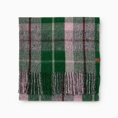 Roots-Sale Accessories-Labrador Scarf-Park Green Mix-A