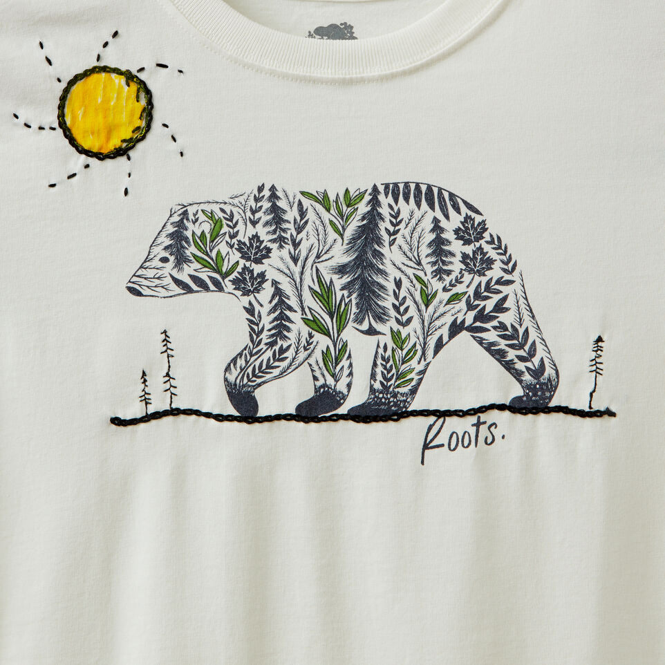 Roots-undefined-Roots x Billy Bamboo Organic T-shirt - Kids-undefined-C