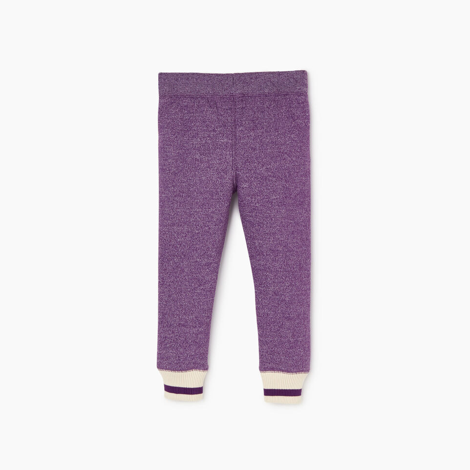 Roots-New For December Kids-Toddler Buddy Cozy Fleece Sweatpant-Grape Royale Pepper-B