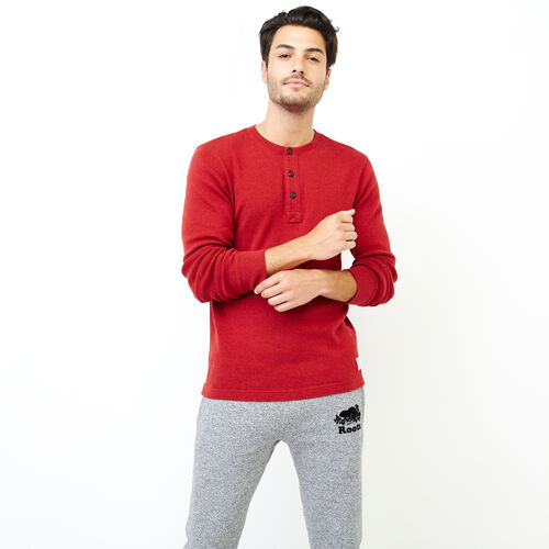 Roots-Men Bestsellers-Killarney Pepper Henley-Lodge Red Pepper-A