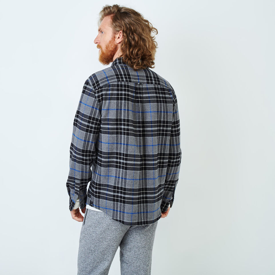 Roots-undefined-Clossen Flannel Shirt-undefined-D