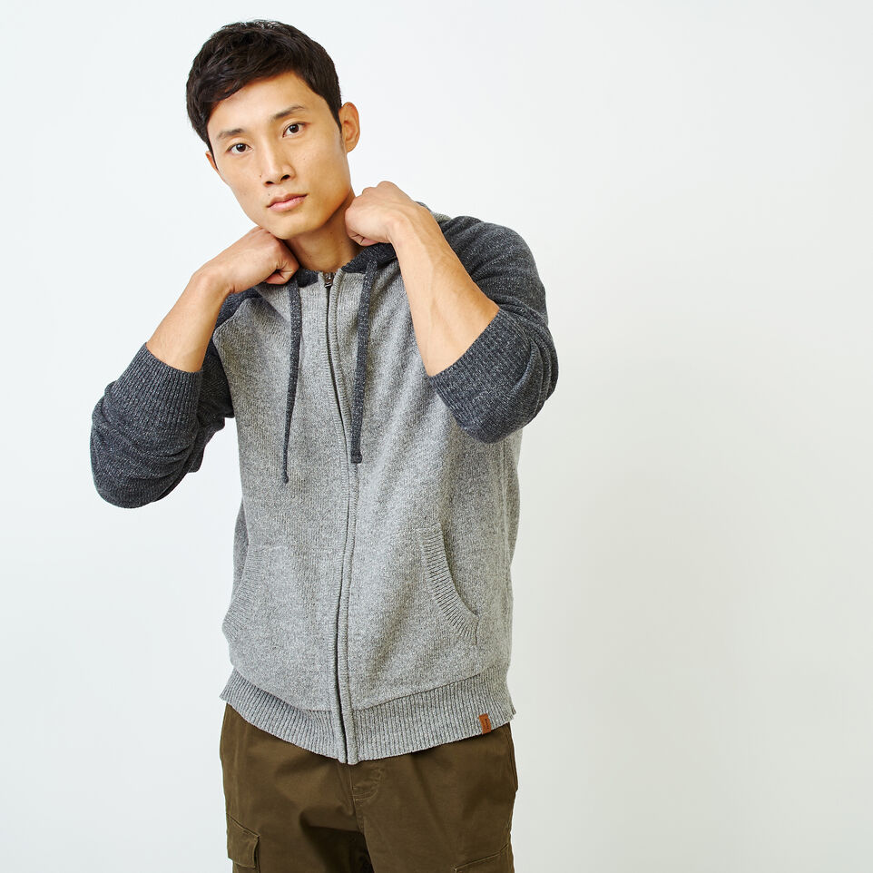 Roots-Men Our Favourite New Arrivals-Montclair Sweater Hoody-Medium Grey Mix-A