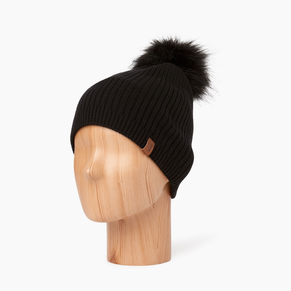 Roots-undefined-Robson Faux Fur Pom Pom Toque-undefined-B