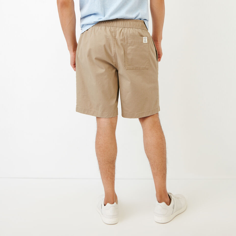 Roots-Men Our Favourite New Arrivals-Essential Short-Dark Khaki-D