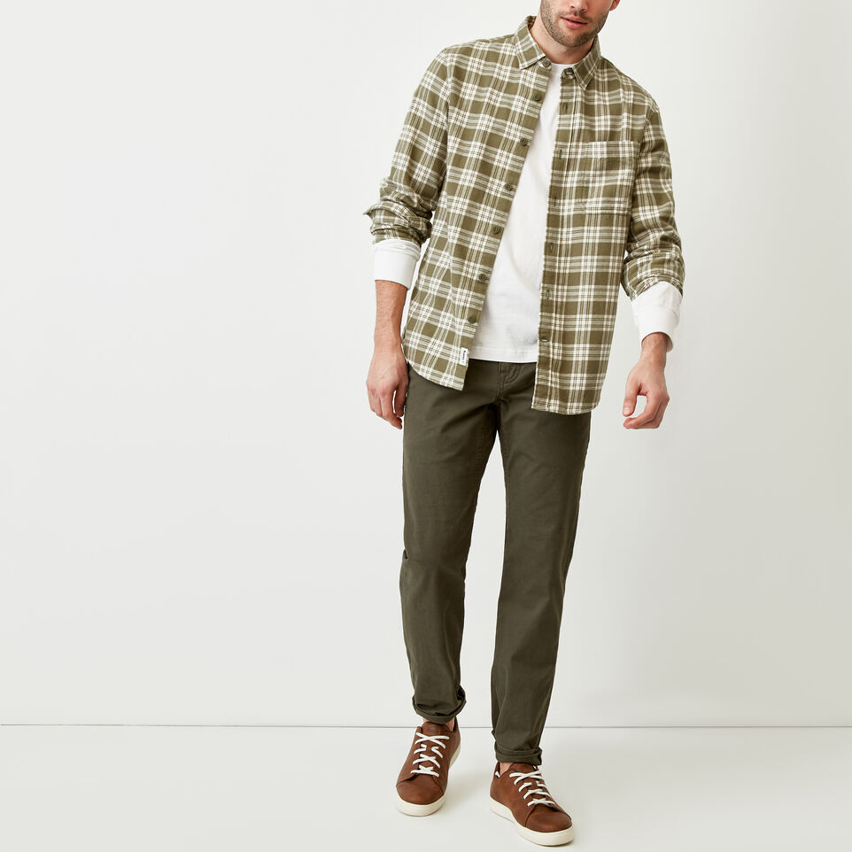 Roots-Men Shirts & Polos-Harrison Flannel Shirt-undefined-B