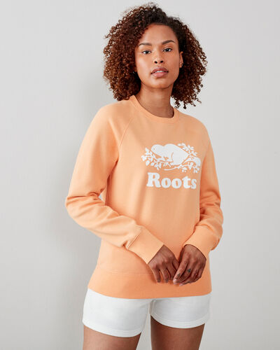 Roots-Sweats Sweatsuit Sets-Original Crew Sweatshirt-Fresh Melon-A