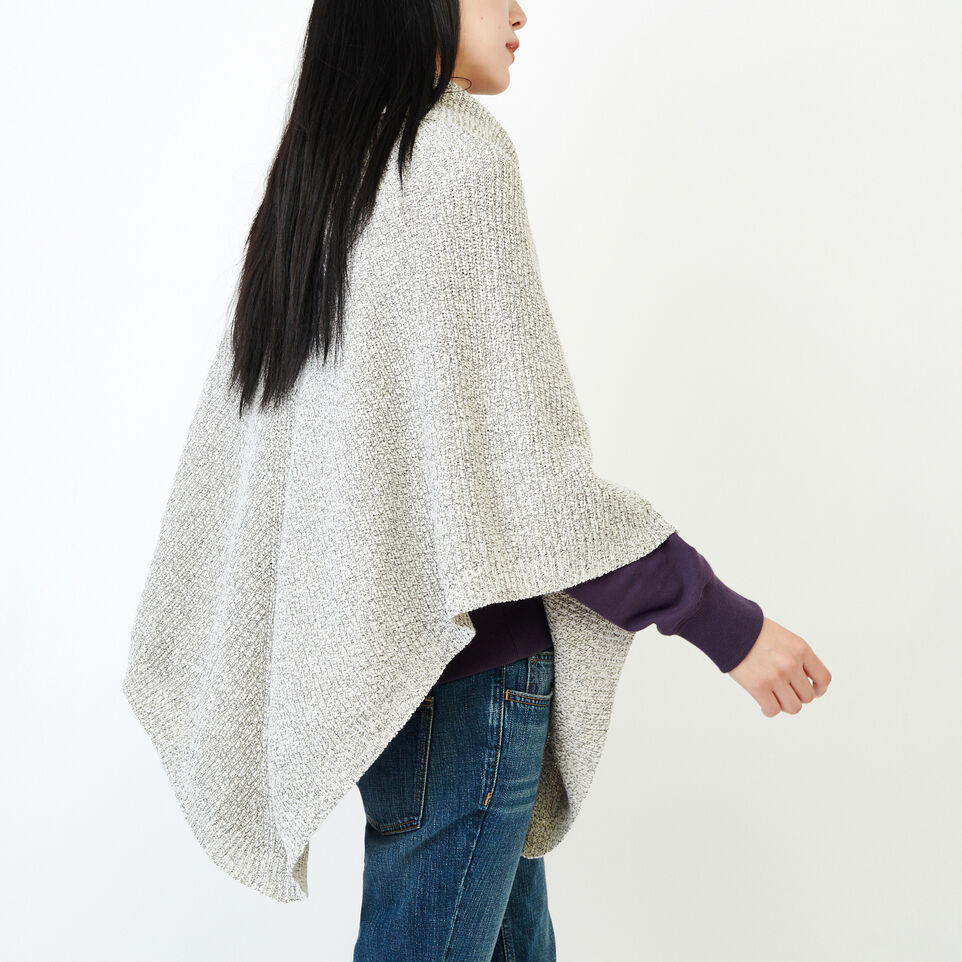 Roots-undefined-Snowy Fox Poncho-undefined-C