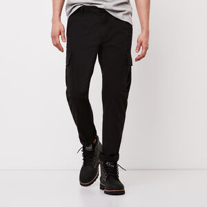 Roots-New For March Men-Utility Cargo Pant-Black-A