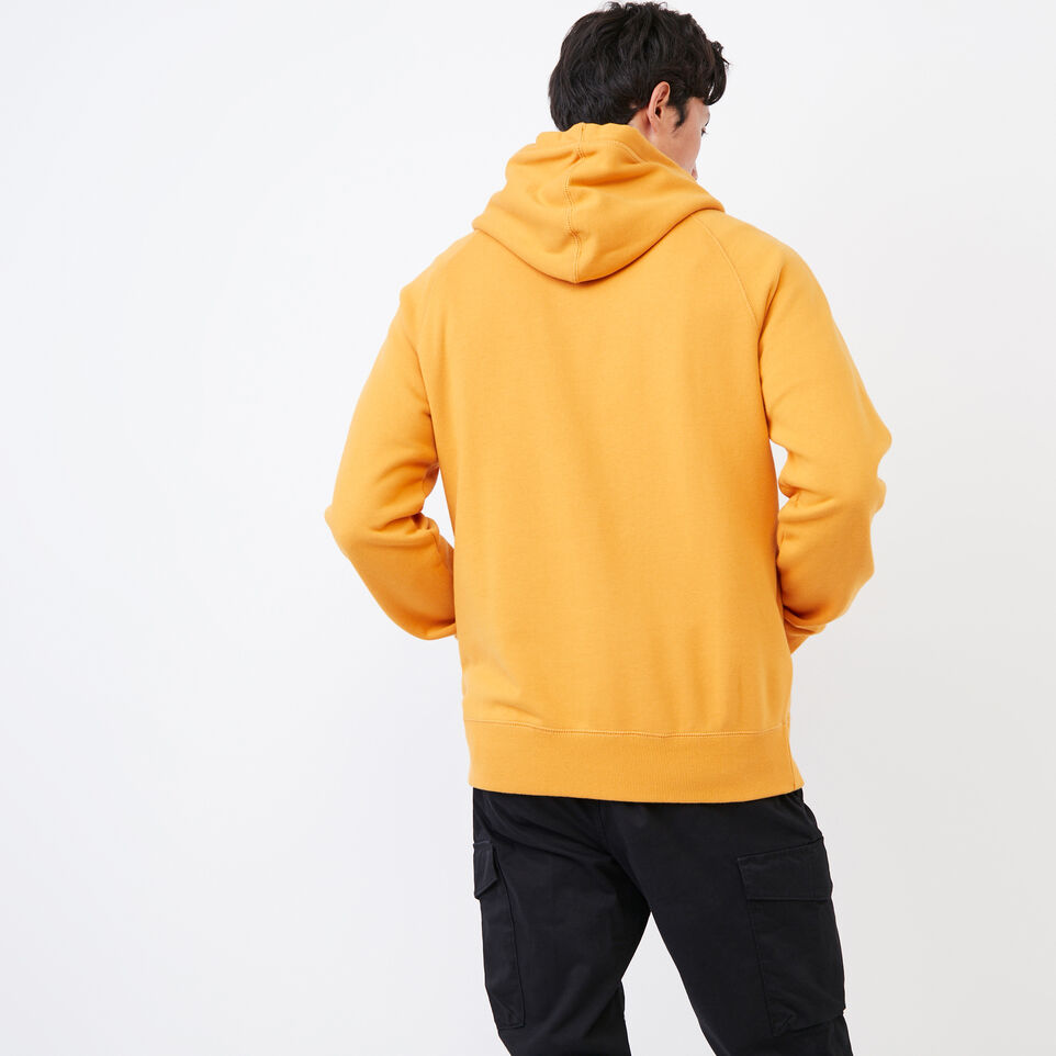 Roots-Men Our Favourite New Arrivals-Stamps Kanga Hoody-Squash Yellow-D
