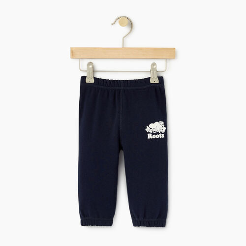 Roots-Clearance Kids-Baby Original Sweatpant-Navy Blazer-A