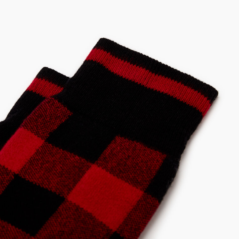 Roots-New For December Today Only: 40% Off Park Plaid Collection-Mens Park Plaid Boot Sock-Red-B