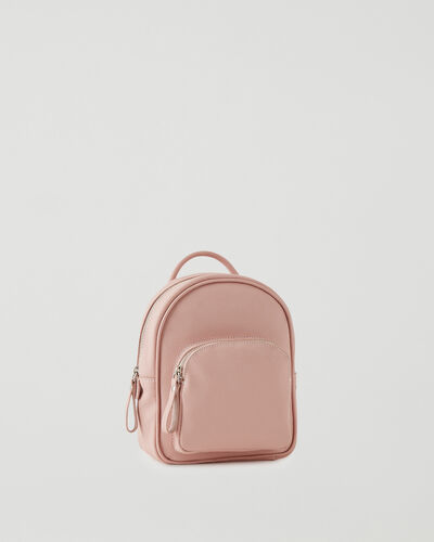 Roots-Leather Leather Bags-Mini Chelsea Pack Cervino-Pink Pearl-A