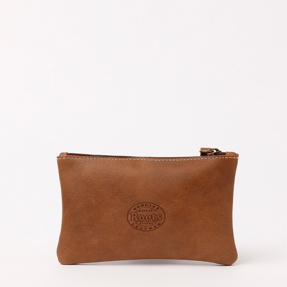 Roots-undefined-Medium Zip Pouch Tribe-Natural-D