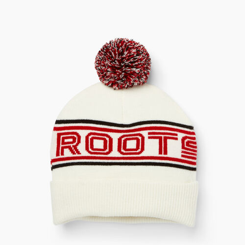 Roots-Men Accessories-Kinbrook Toque-White-A