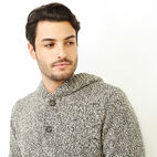 Roots-Men Our Favourite New Arrivals-Cotton Cabin Anorak Sweater-Speckle-E