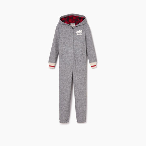 Roots-Sale Kids-Boys Roots Cabin Onesie-Salt & Pepper-A
