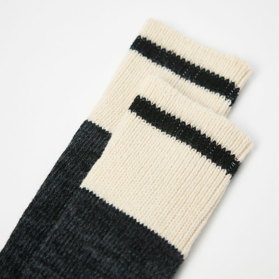 Roots-undefined-Mens Cotton Cabin Sock 2 Pack-undefined-B