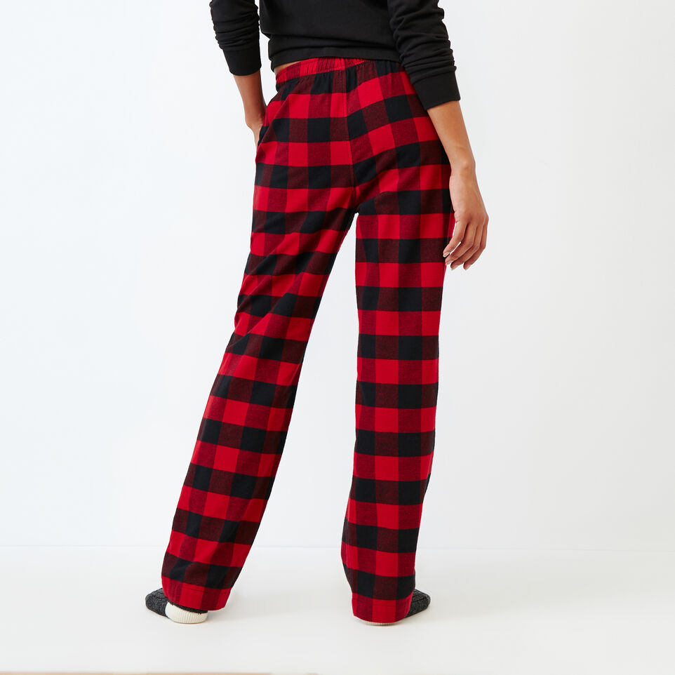 Roots-New For December Today Only: 40% Off Park Plaid Collection-Inglenook Lounge Pant-Lodge Red-D